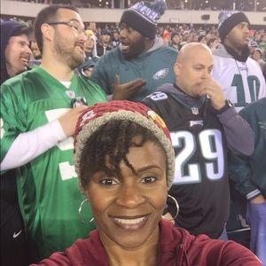Fleece NFL Redskins sweater hat (beanie)